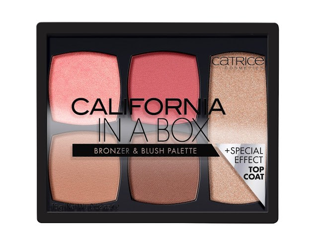 f07c4 catrice california in a box bronzer blush palette front view closed - CATRICE ASSORTIMENT UPDATE VOORJAAR 2018