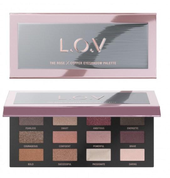4059729035011 L.O.V THE ROSE X COPPER eyeshadow palette P2 os 300dpi - L.O.V. UPDATE