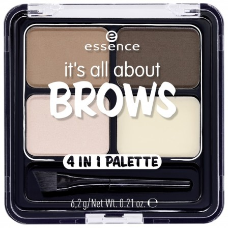 essence its all about the brows 4in1 palette Closed - ESSENCE UPDATE HERFST/WINTER 2018