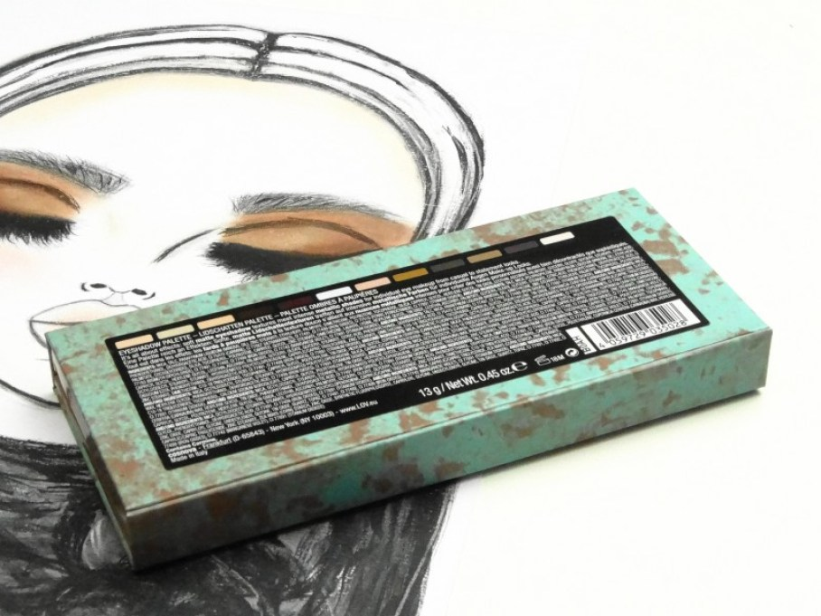 DSC00402 1 InPixio - L.O.V. THE MATTE X METALLIC EYESHADOW PALETTE