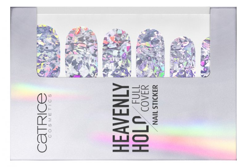 4059729052964 Catrice Heavenly Holo Full Cover Nail Sticker 01 Image Front View Closed e1545664869740 - CATRICE ASSORTIMENT UPDATE LENTE / ZOMER 2019