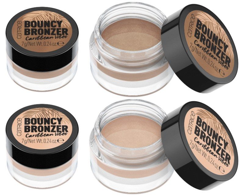 BOUNCY BRONZER CARRIBEAN VIBE - CATRICE ASSORTIMENT UPDATE LENTE / ZOMER 2019