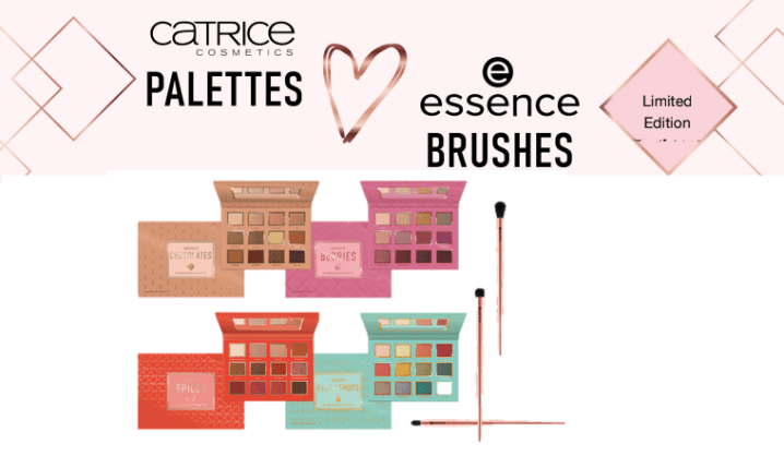 CATRICE - PREVIEW │ CATRICE PALETTES LOVE ESSENCE BRUSHES