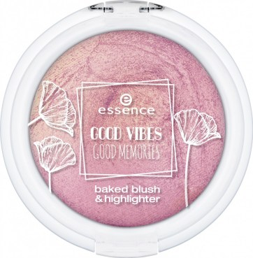 "541525 Essence baked blush highlighter Front View Closed jpeg - PREVIEW │ESSENCE TREND EDITION ""GOOD VIBES GOOD MEMORIES"""