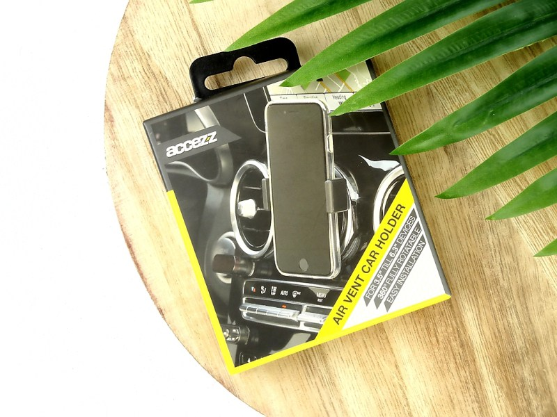 air vent car holder - SMARTPHONEHOESJES.NL #GETITCOVERED GOODIEBAG