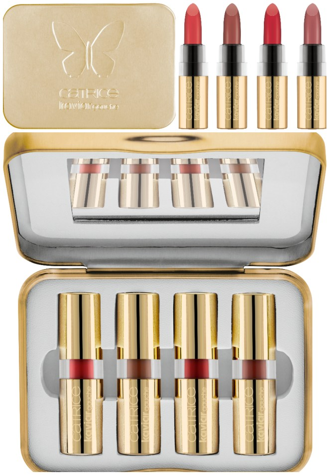 CATRICE Limited Edition Kaviar Gauche lipstickset - PREVIEW LIMITED EDITION │CATRICE KAVIAR GAUCHE