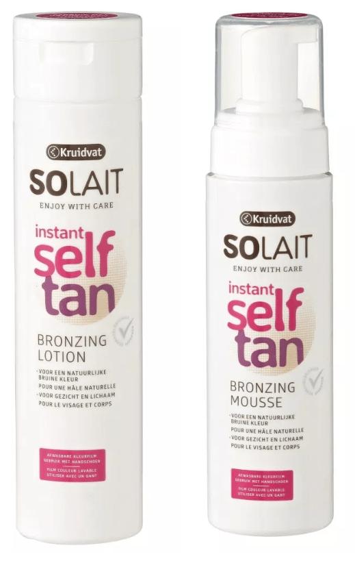 solat self tan - VLEKKELOOS DE LENTE IN MET SELF TAN PRODUCTEN VAN KRUIDVAT