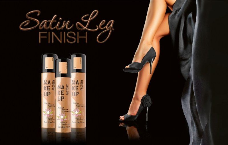 finisch leg - PREVIEW │MAKE UP FACTORY SATIN LEG FINISH