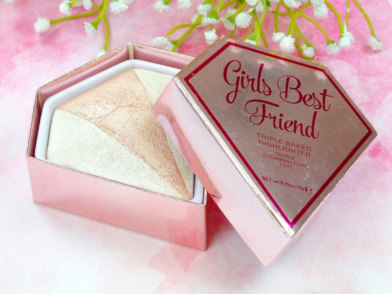 I HEART REVOLUTION 'GIRLS BEST FRIEND' TRIPLE BAKED HIGHLIGHTER