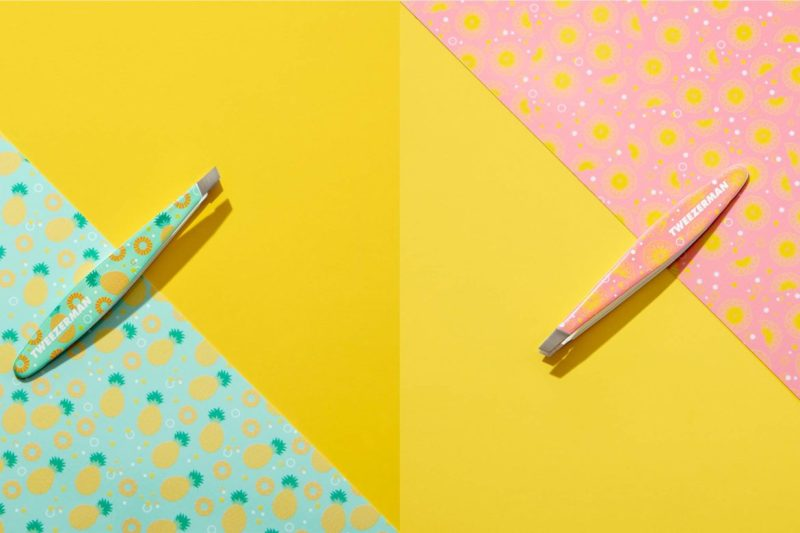 tweezerman get tropical mini slant tweezers - PREVIEW │ TWEEZERMAN GET TROPICAL MINI TWEEZERS
