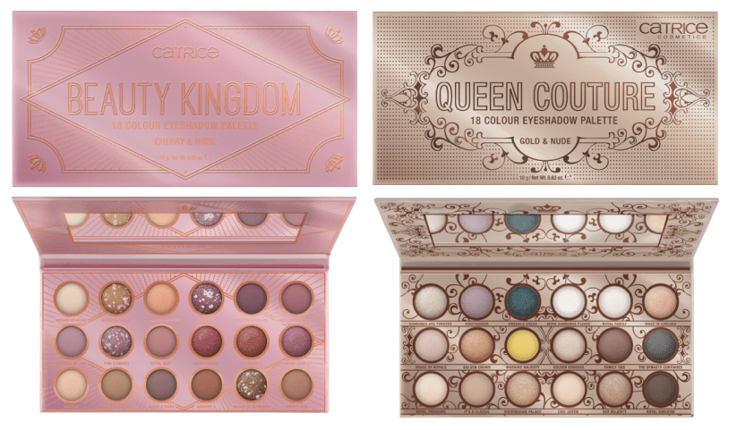 CATRICE Queen Couture Beauty Kingdom Eyeshadow Palettes - PREVIEW │CATRICE & ESSENCE LIMITED EDITION 'ROYAL PARTY'