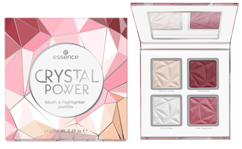 Crystal power blush highlighter palette - PREVIEW │ ESSENCE HERFST / WINTER UPDATE 2019