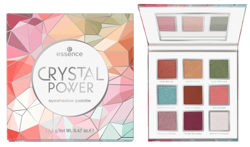 crystal power eyeshadow palette - PREVIEW │ ESSENCE HERFST / WINTER UPDATE 2019