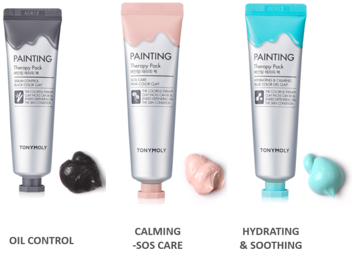 Multi masking met Tonymoly's Painting Therapy
