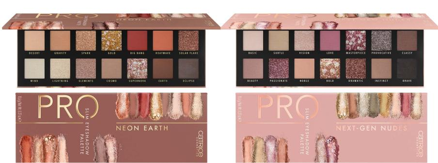 catrice pro slim eyeshadow palette - CATRICE ASSORTIMENTSUPDATE LENTE/ ZOMER 2020