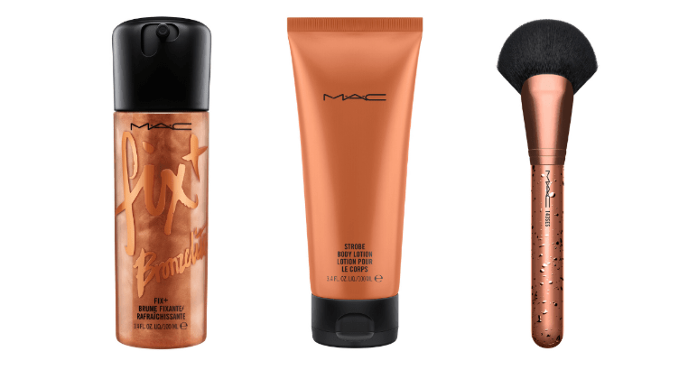 Fix in Bronzelite Strobe Body Lotion in Bronzelite - M.A.C COSMETICS LIMITED-EDITION BRONZER COLLECTIE GEEFT SUNKISSED LOOK