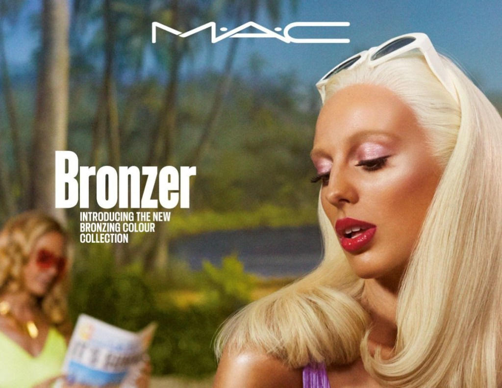M.A.C COSMETICS LIMITED-EDITION BRONZER COLLECTIE GEEFT SUNKISSED LOOK