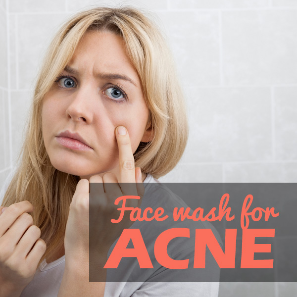 face wash for acne