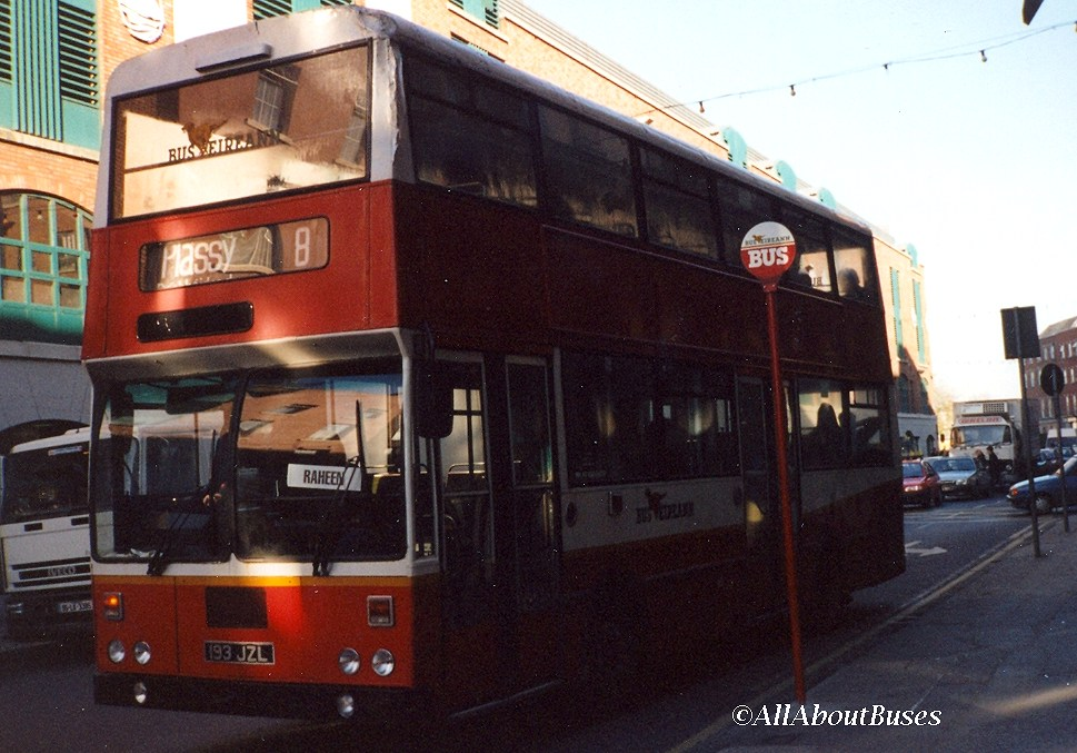 I've just disembarked from KD193, after travelling on a double-decker in Limerick for the last ever time in December 1995