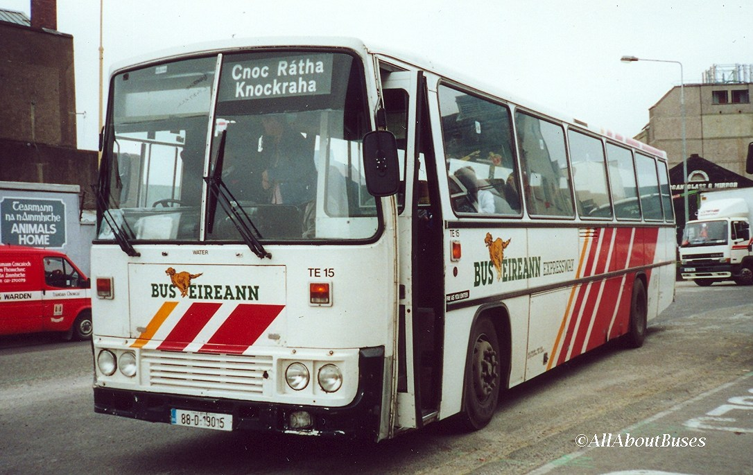 TE15 on a local commuter service at Cork