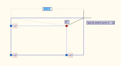 The rectangle now stretches like a viewport!