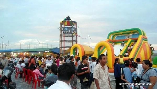 Детский парк в Пномпене