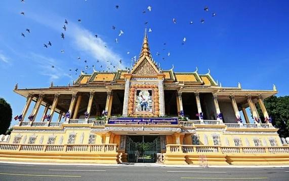 Королевский дворец, Пном Пень