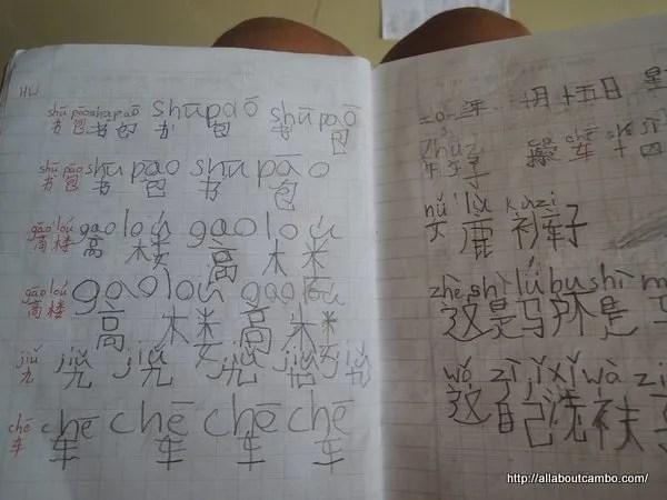 Китайский язык в Пном Пене