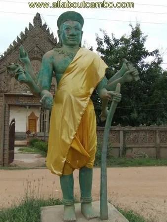 шива многорукий в камбодже