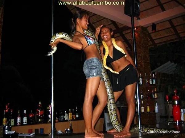 бары в Камбодже