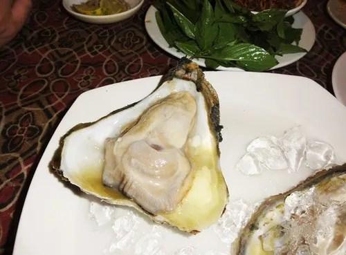 где поесть устрицы в камбодже