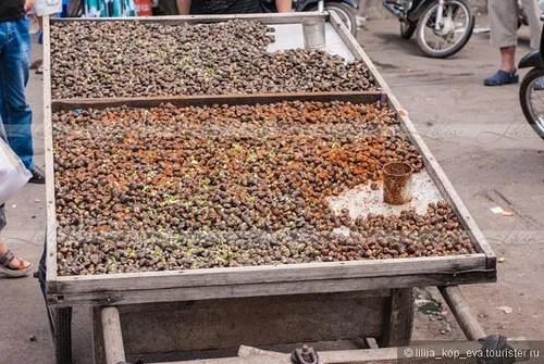 еда в на улицах камбоджи