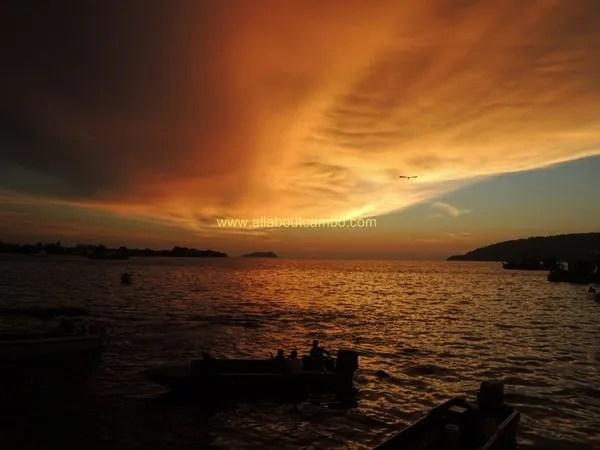 закаты на борнео