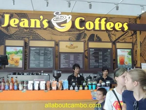 кофейни в камбодже