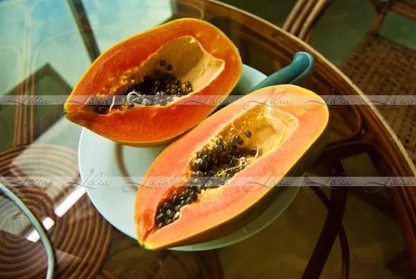 фрукты в камбодже папая