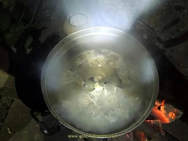 приготовление супа из змеи