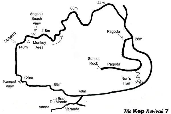 kep-national-park-map