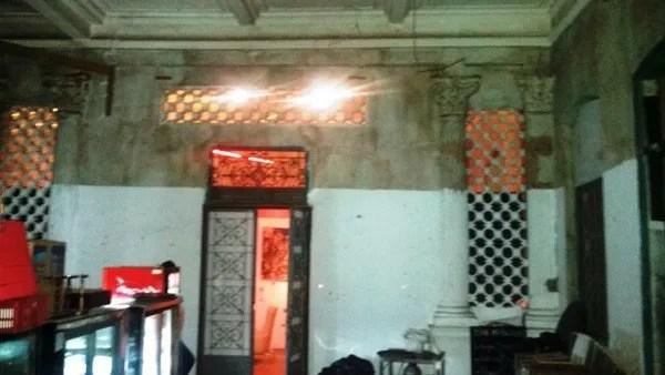 бар в старинном особняке