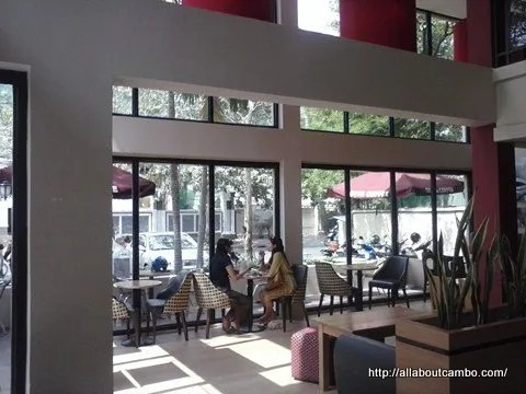 где попить кофе в Камбодже