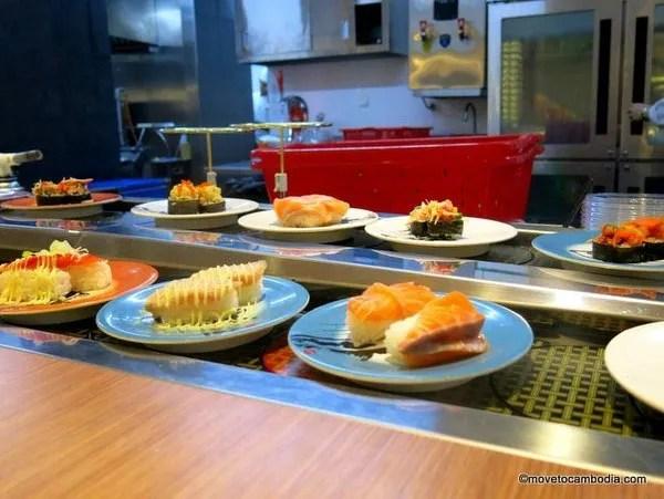 суши в пном пене