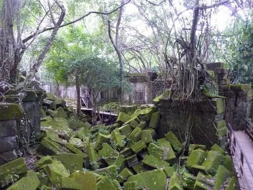 вид храма банг мелеа