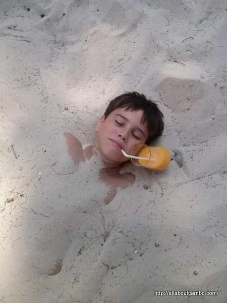 белоснежный песок камбоджа