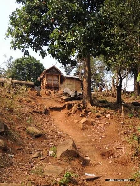 деревня Лаос