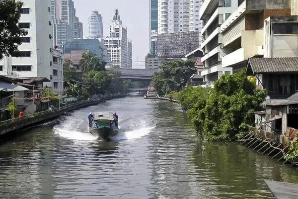 речные каналы Бангкока
