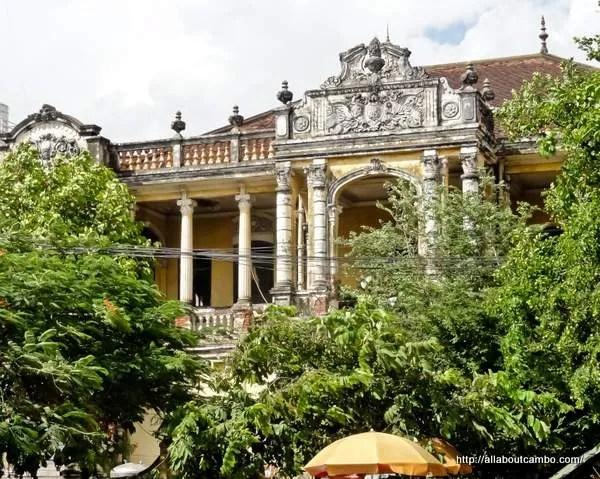 колониальная архитектура в камбодже