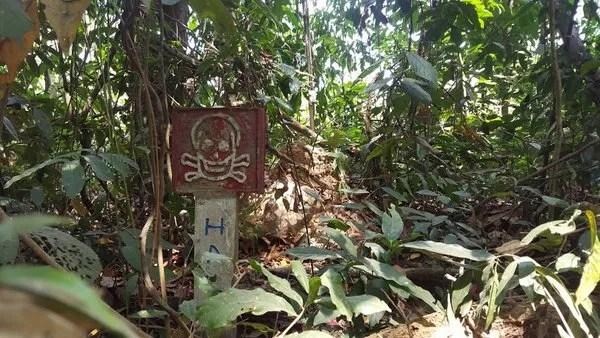 мины в Камбодже