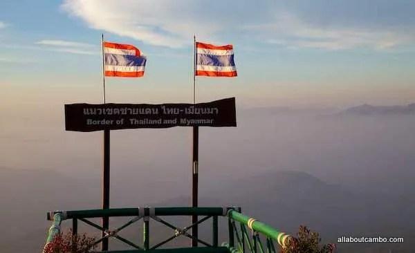 Граница Тайланда и Бирмы