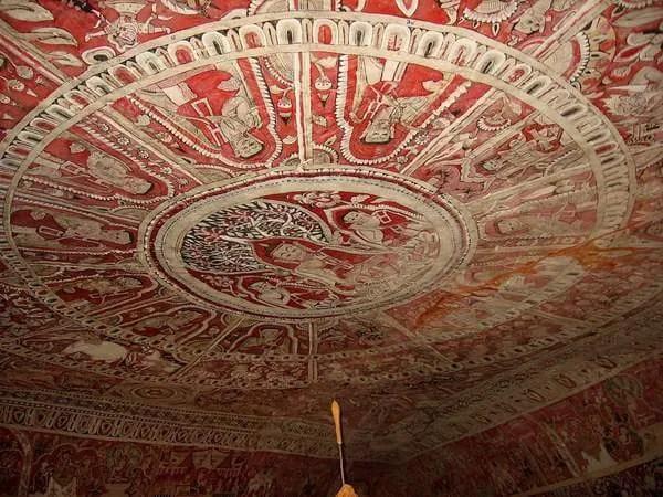 уникальные фрески Мьянма