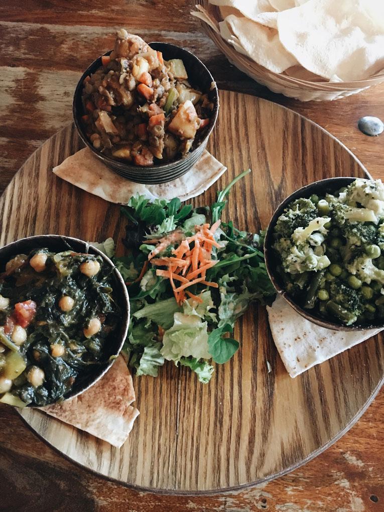 Veganes orientalisches Curry im Kamayan Bremen