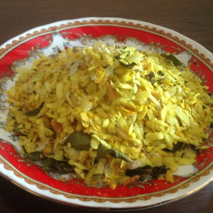 Healthy Snack Poha Chivda